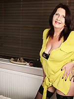 British mature lady getting naughty